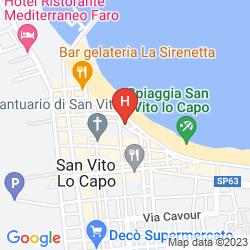 Plan HOTEL MIRA SPIAGGIA
