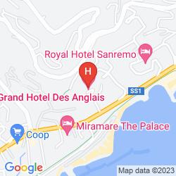 Plan GRAND HOTEL DES ANGLAIS