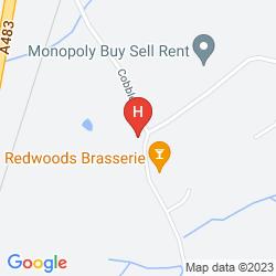 Plan HALLMARK HOTEL LLYNDIR HALL, CHESTER SOUTH