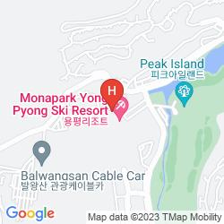 Plan YONGPYONG RESORT DRAGON VALLEY HOTEL