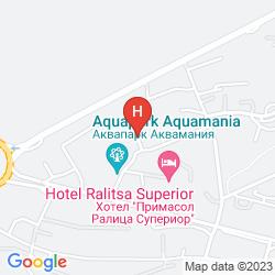 Plan PRIMASOL RALITSA AQUACLUB HOTEL