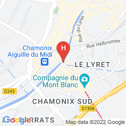 Plan BOUTIQUE HOTEL LE MORGANE
