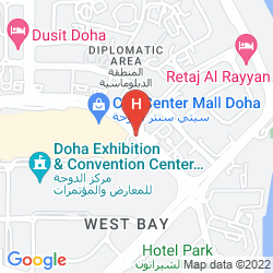 Plan SHANGRI-LA HOTEL, DOHA