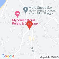 Plan MADOUPA BOUTIQUE HOTEL