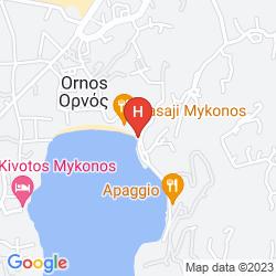 Plan MYKONOS BLANC HOTEL