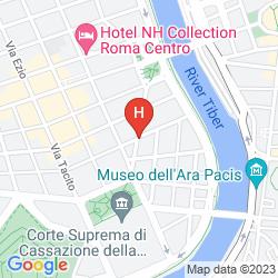 Plan LE MERIDIEN VISCONTI ROME