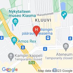 Plan HOLIDAY INN HELSINKI CITY CENTRE
