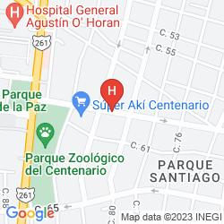 Plan THE VILLA MERIDA HOTEL