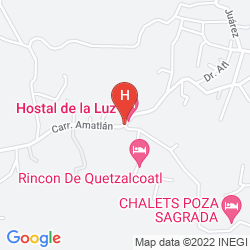 Plan HOSTAL DE LA LUZ - SPA HOLISTIC RESORT