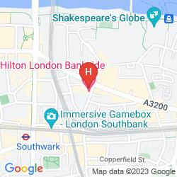 Plan HILTON LONDON BANKSIDE
