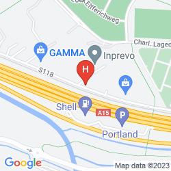 Plan BASTION HOTEL ROTTERDAM-RHOON
