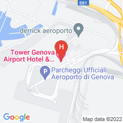 Plan TOWER GENOVA AIRPORT HOTEL & CONFERENCE CENTER