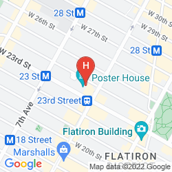 Plan HAMPTON INN MANHATTAN-CHELSEA