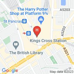 Plan GREAT NORTHERN HOTEL, A TRIBUTE PORTFOLIO HOTEL, LONDON
