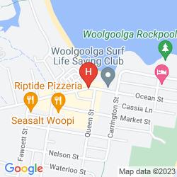 Plan WOOLGOOLGA BEACH HOLIDAY PARK