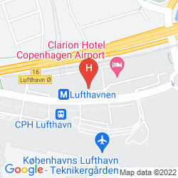 Plan CLARION HOTEL COPENHAGEN AIRPORT