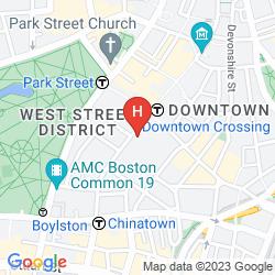 Plan THE GODFREY HOTEL BOSTON