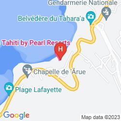Plan TAHITI PEARL BEACH RESORT