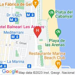 Plan LAS ARENAS BALNEARIO RESORT