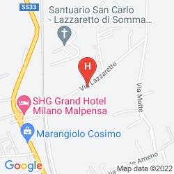 Plan SHG GRAND HOTEL MILANO MALPENSA