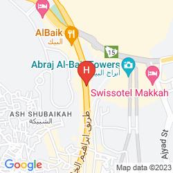 Plan SWISSOTEL AL MAQAM MAKKAH