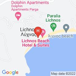 Plan LICHNOS BEACH HOTEL & SUITES
