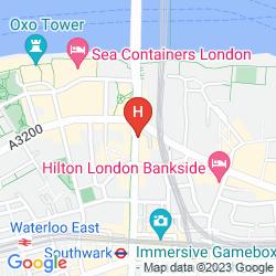 Plan HOLIDAY INN EXPRESS LONDON SOUTHWARK