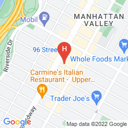 Plan DAYS INN HOTEL NEW YORK CITY - BROADWAY