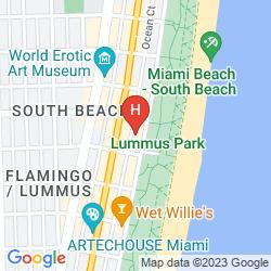 Plan CONGRESS HOTEL SOUTH BEACH