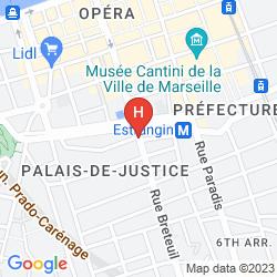 Plan ADONIS MARSEILLE VIEUX PORT - HOTEL DU PALAIS