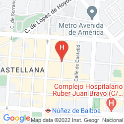 Plan NH MADRID BALBOA