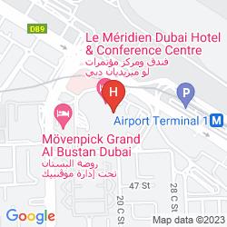 Plan LE MERIDIEN DUBAI HOTEL & CONFERENCE CENTRE