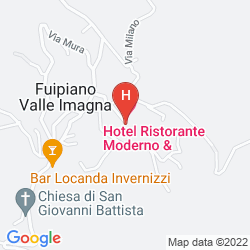 Plan ALBERGO RISTORANTE MODERNO