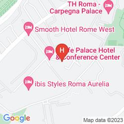 Plan ELE GREEN PARK HOTEL PAMPHILI