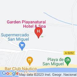 Plan CARTAYA GARDEN HOTEL & SPA