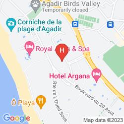Plan APPART-HOTEL TAGADIRT
