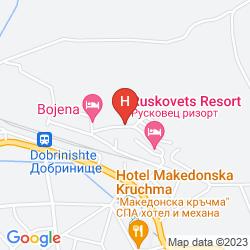 Plan RUSKOVETS RESORT