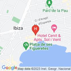 Plan SUNCOAST IBIZA