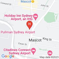 Plan IBIS SYDNEY AIRPORT