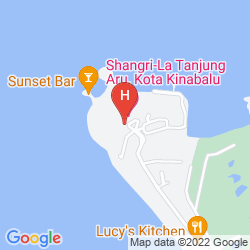 Plan SHANGRI-LA'S TANJUNG ARU RESORT & SPA
