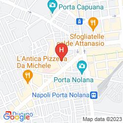 Plan HOTEL SAN PIETRO
