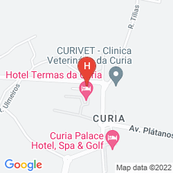 Plan TERMAS DA CURIA SPA RESORT