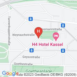 Plan H4 HOTEL KASSEL