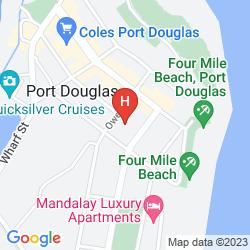 Plan OUTRIGGER BEACH CLUB