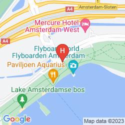 Plan MERCURE HOTEL AMSTERDAM WEST
