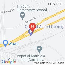 Plan RAMADA PHILADELPHIA AIRPORT