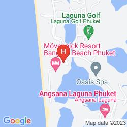 Plan OUTRIGGER LAGUNA PHUKET BEACH RESORT