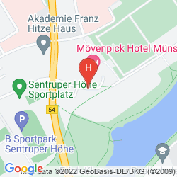Plan MOVENPICK HOTEL MUENSTER