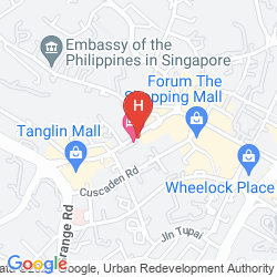Plan THE ST. REGIS SINGAPORE