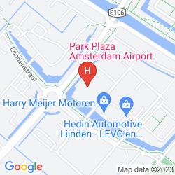Plan PARK PLAZA AMSTERDAM AIRPORT